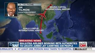 Malaysia Airlines MH370 B777 200ER Loses Contact With Air Traffic Control