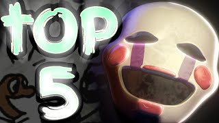 Top 5 Marionette Theories! || Five Nights At Freddy's 1 - 3