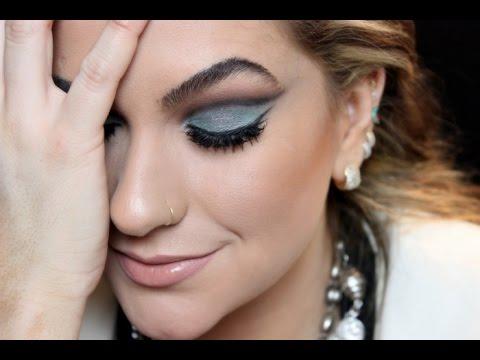 Maquiagem para o Natal 2014 por Alice Salazar