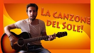 "getlinkyoutube.com-Tutorial Chitarra ➔ ""La Canzone del Sole"" - Lucio Battisti [Accordi Facili ITA]"