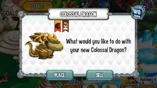 getlinkyoutube.com-How to breed Colossal Dragon 100% Real! Dragon City Mobile!