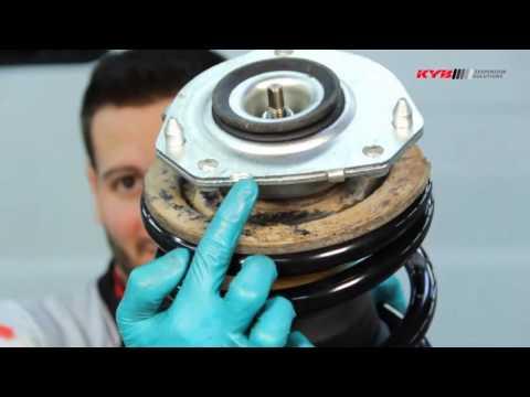 FIAT Ducato; CITROEN Jumper; PEUGEOT Boxer - FRONT - Передние амортизаторы KYB установка