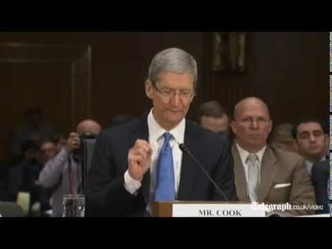 Apple's CEO Tim Cook: 'We pay every dollar of tax we owe' - 5/21/13