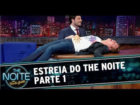Estreia do The Noite Com Danilo Gentili HD - Parte 1