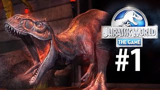 getlinkyoutube.com-Jurassic World: The Game - Beginning, A New World [Episode 1] [iPad/Android]
