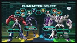 getlinkyoutube.com-Transformers Prime The Game Wii U Multiplayer Brawl part 1
