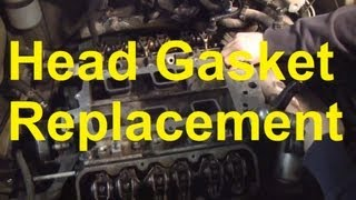 getlinkyoutube.com-How To Replace The Head Gasket and Intake Manifold Gaskets On A GM 3800 Engine