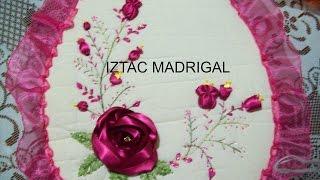 getlinkyoutube.com-24 DIY Rosa  estrella en cintas Iztac Madrigal