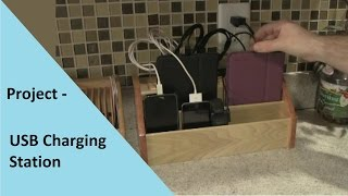 Project Build - USB Charging Station