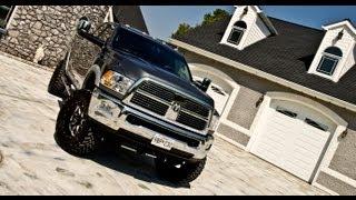 getlinkyoutube.com-Installation of a 6 inch lift from Top Gun Customz on a 2012 Dodge Ram 3500