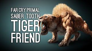 getlinkyoutube.com-Far Cry Primal Gameplay: SABER TOOTH TIGER FRIEND