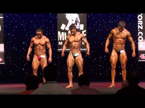 Men's Overall Competition for PRO card - Muscle Mayhem 2013