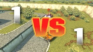 getlinkyoutube.com-TANKI ONLINE: Pizzarrific vs Fathead900    EPIC XP BATTLES