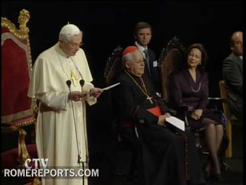 Benedict XVI to intellectuals
