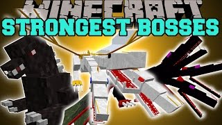 getlinkyoutube.com-Minecraft: OVERPOWERED BOSSES (THE STRONGEST MOBS ALIVE!) Mod Showcase