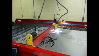 getlinkyoutube.com-cnc plasma metal art