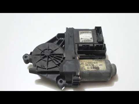 Мотор стеклоподъемника с блоком управления VAG водителя 1T0959702D 1K0959792J