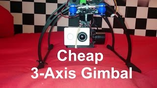 getlinkyoutube.com-Cheap 3-Axis Gimbal Storm32 From Box to Flight