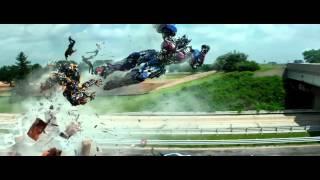 Transformers 4 (2014) Optimus Prime vs Galvatron (HD latino)