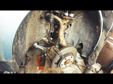 Passat B5 Audi A4 Замена рычагов передней подвески Как заменить подвеску