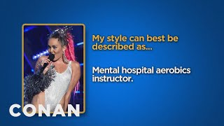 getlinkyoutube.com-Celebrity Survey: Miley Cyrus, Bernie Sanders Edition  - CONAN on TBS