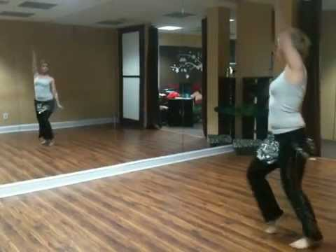 Hantour choreography ..     ..    teaching belly dance