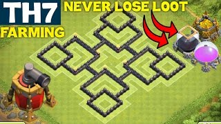getlinkyoutube.com-Clash of Clans - BEST TH7 FARMING BASE Town Hall 7 | ANTI EVERYTHING | Air Sweeper | Clash of Clans