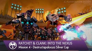 getlinkyoutube.com-Ratchet & Clank: Into the Nexus - Walkthrough - Mission 4 - Destructapalooza Silver Cup