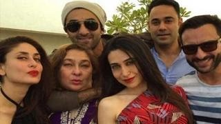 getlinkyoutube.com-Kareena, Ranbir, Karishma attend Shashi Kapoor's Christmas Party