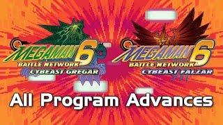 getlinkyoutube.com-Mega Man Battle Network 6: All Program Advances (Including CrossOver PA!)