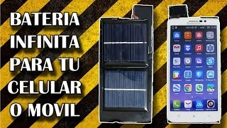getlinkyoutube.com-Bateria Infinita Para Tu Celular o Movil / Cargador Solar (Experimentar en casa)