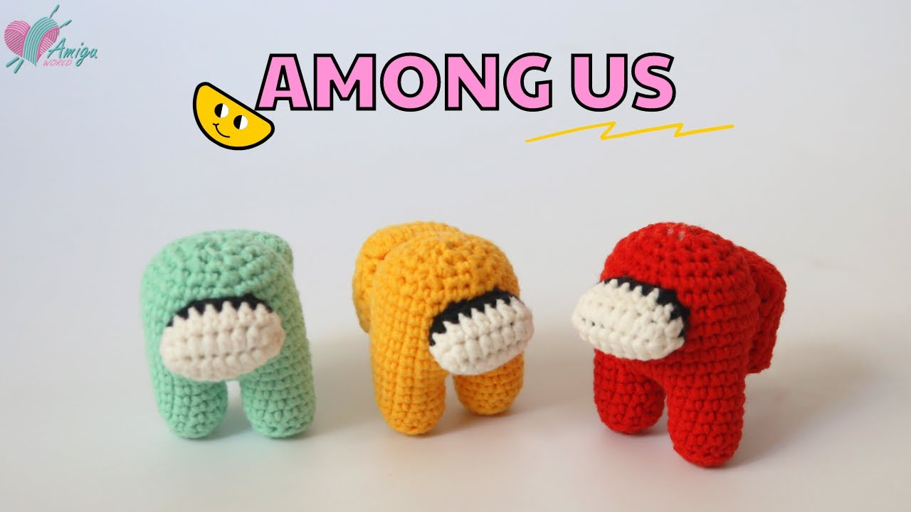 How to crochet Among Us Crewmate amigurumi