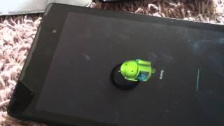 How to do factory reset on asus nexus 7 inch tablet