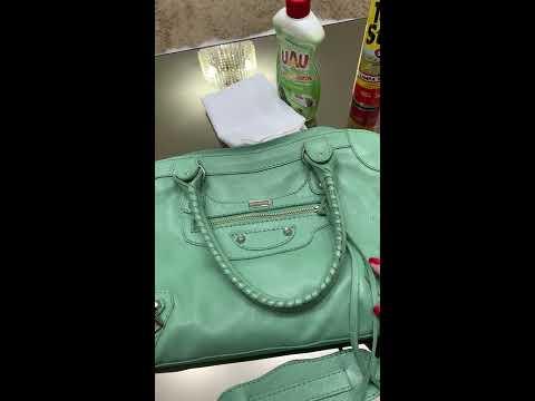 Como limpar bolsa de couro legitimo?