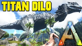 getlinkyoutube.com-Ark Survival Evolved Mods - TITAN DILO! Alpha Carno, Dodo, Raptor! - Dino Overhaul Mod 1080pHD