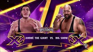 getlinkyoutube.com-WWE 2K15: Andre The Giant vs The Big Show: BATTLE OF THE GIANTS!