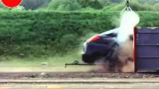 getlinkyoutube.com-193 KM Hızla Duvara Çarpma Testi - Ford