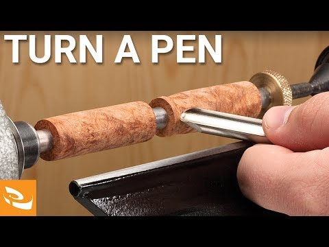 How to Turn a Pen (Pen Turning Tips and Techniques)
