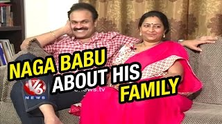 Mega Brother Naga Babu And His Wife Padmaja | Life Mates | V6 News