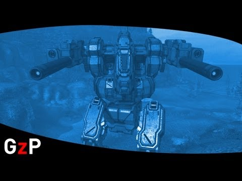 MechWarrior Online Blackjack Attack Robot Specs trailer New update - PC