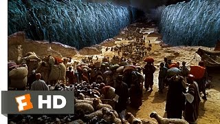 Moses Parts the Sea - The Ten Commandments (6/10) Movie CLIP (1956) HD width=