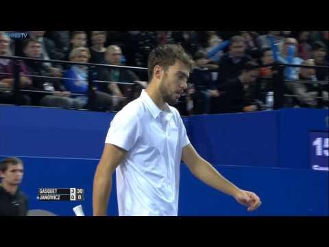 Montpellier 2015 Final Highlights Gasquet Janowicz