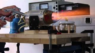 getlinkyoutube.com-Jet Engine Homemade 2.0 | 1. Testrun