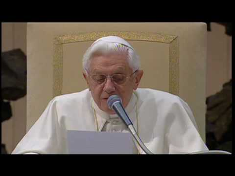 Pope dedicates the audience to Saint Dominic