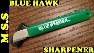 getlinkyoutube.com-BlueHawk Carbide Tool Sharpener Ferro Rod Striker. Is it better than the Corona?