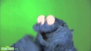 Cookie Monster Eating Cookie
