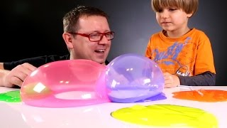 Fun with Slimy Bubbles Toys