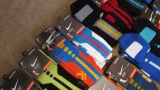 getlinkyoutube.com-One of the Largest Elite Sock Collections ON EARTH