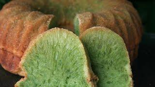 getlinkyoutube.com-Jn Banh Bo Nuong - Honeycomb Pandan Cake