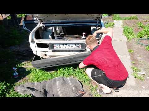 Как снять задний бампер на ВАЗ-21099